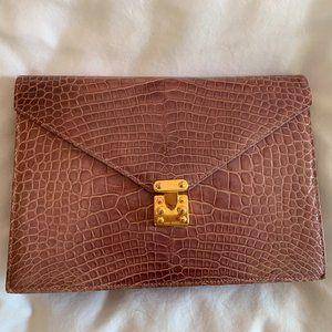 Lana Marks Alligator Bag